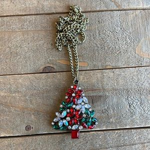 Handmade Christmas Tree Necklace